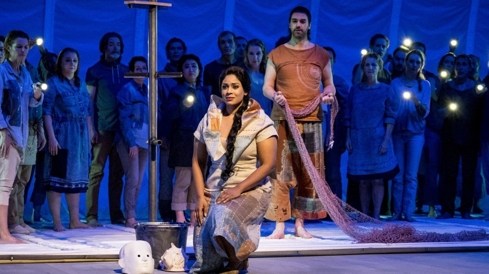 Kishani Jayasinghe as Leila with the Nationale Reisopera
