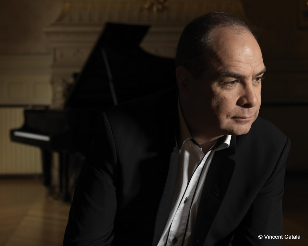 Philippe Cassard performs at the Wigmore Hall on Thursday 28 May 2015