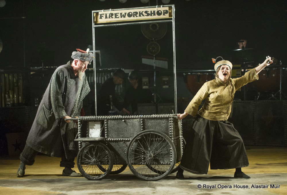 Wyn Pencarreg as Lalchand in The Firework-Maker's Daughter at the Linbury Studio Theatre
