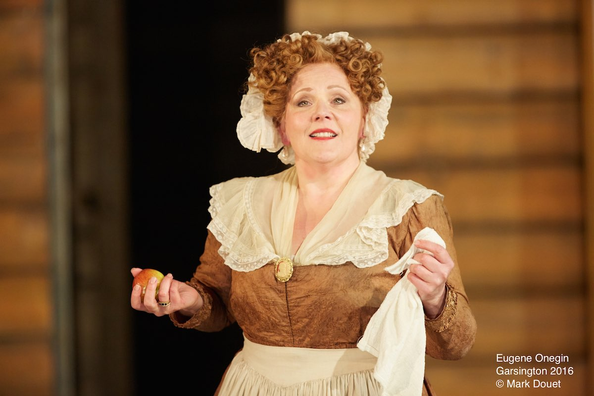 Louise Winter as Madame Larina for Garsington Festival Opera