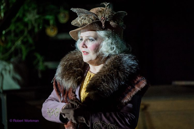 Louise Winter as Anaide in Zazà for Opera Holland Park