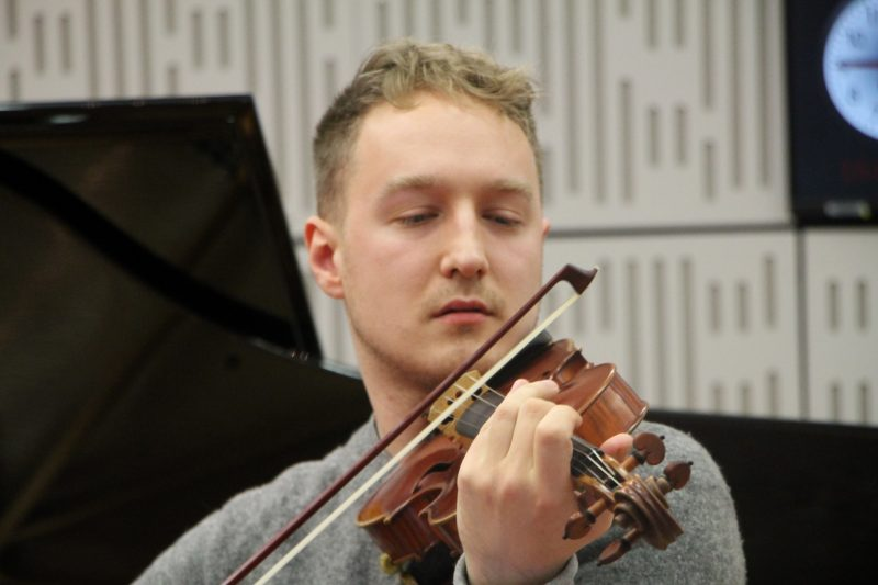 Daniel Pioro performs on BBC Radio 3 ahead of the release of his album