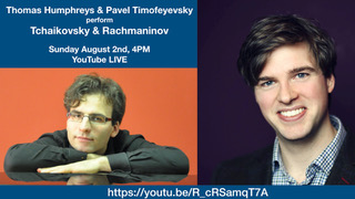 Thomas Humphreys to give livestream recital of Russian Song