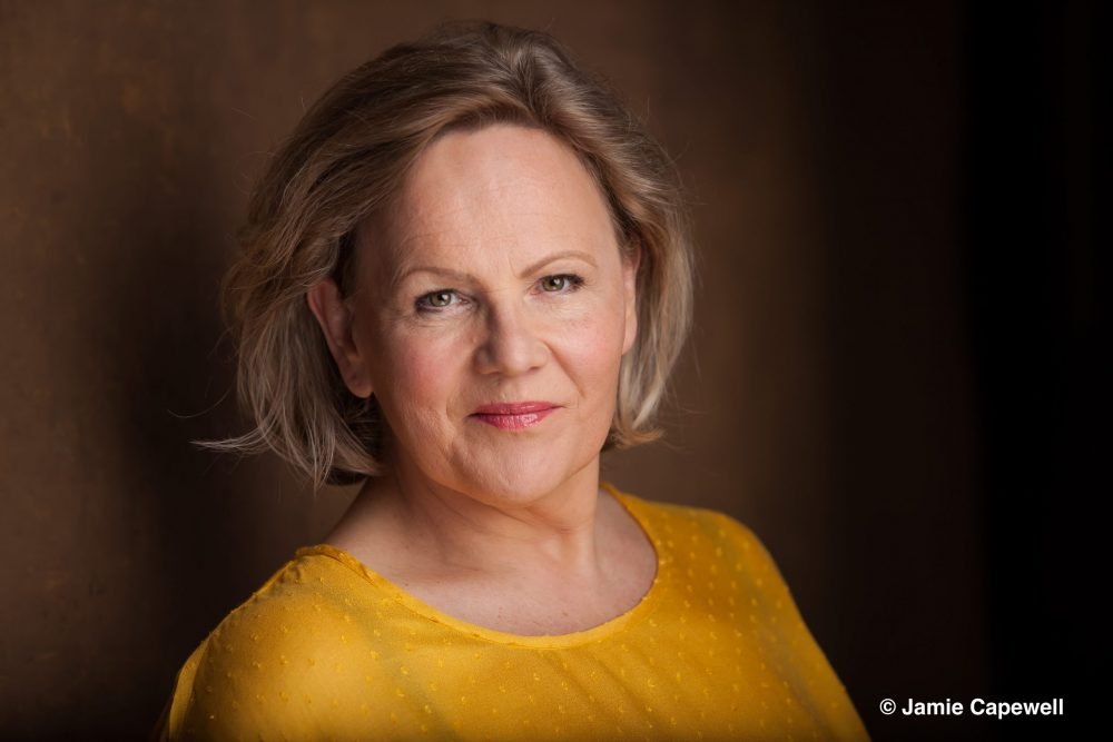 Louise Winter sings Mistress Quickly with Scottish Opera